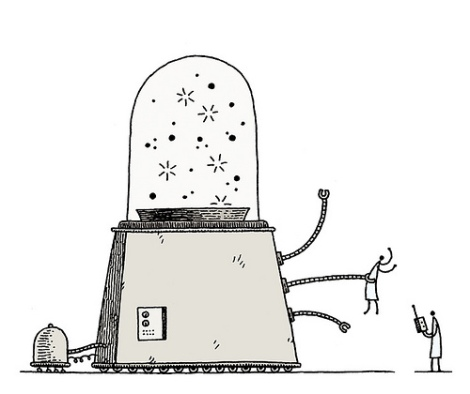 Tom Gauld Machine 1