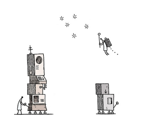 Tom Gauld Machine 2